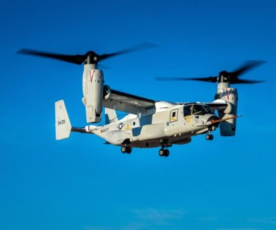CMV-22B Osprey completes first flight in Texas