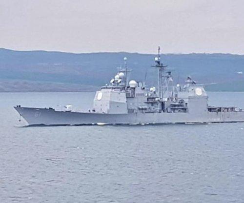 USS Monterey leaves Black Sea after NATO exercise, Romanian port visit