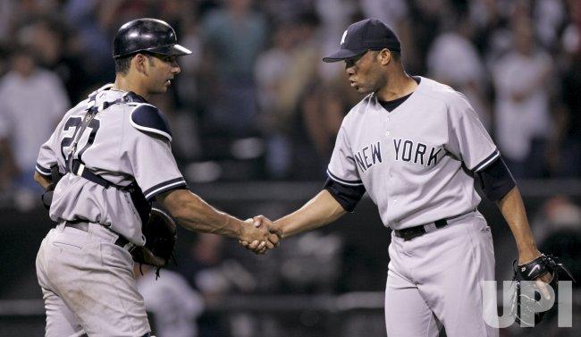 MLB NEW YORK YANKEES VS CHICAGO WHITE SOX