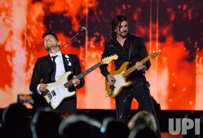 Juanes performs at Person of the Year gala in Las Vegas
