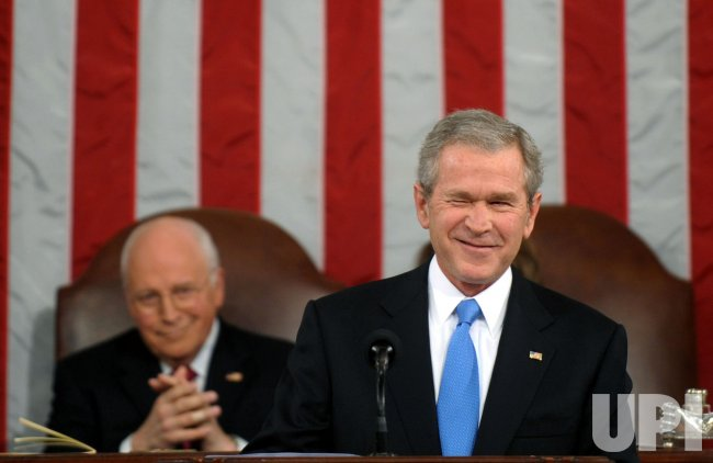 President Bush delivers his State of the Union address in Washington