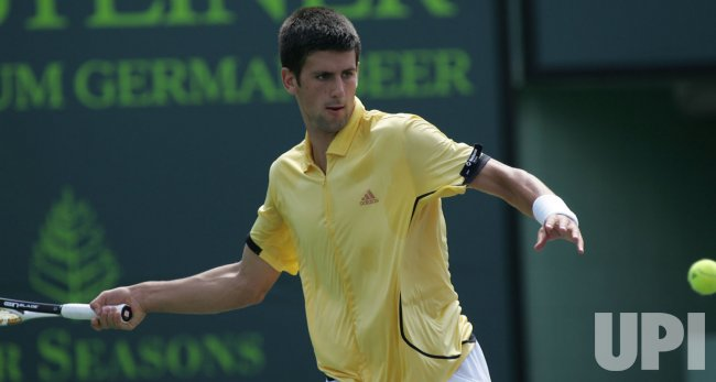 NOVAK DJOKOVIC VS ANDY MURRAY AT THE SONY ERICSSON OPEN