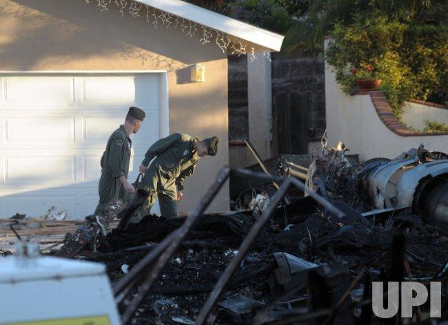 Marine Corps investigate crash of fighter jet in San Diego