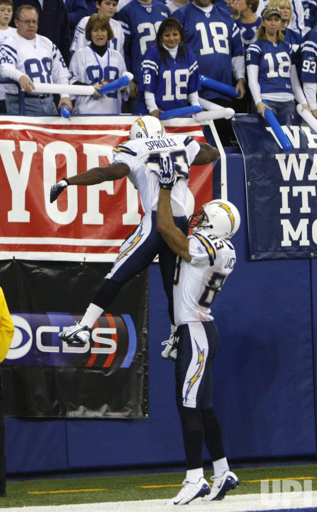 San Diego Chargers vs Indianapolis Colts AFC Divisional Playoffs