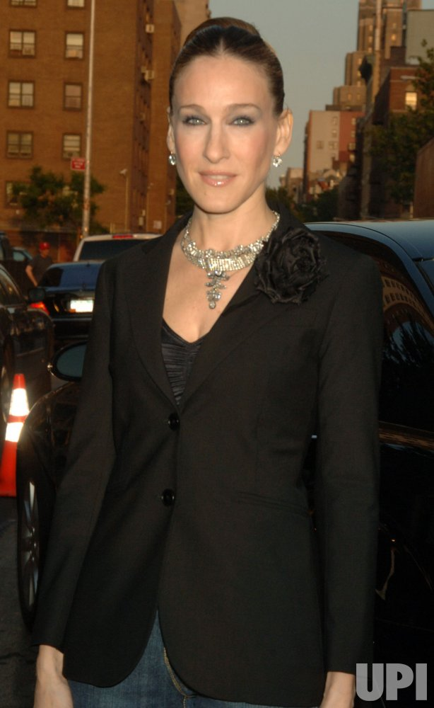 """SARAH JESSICA PARKER LAUNCHES HER """"BITTEN"""" CLOTHES LINE IN NEW YORK"""