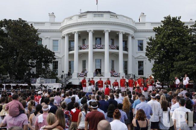 President Trump hosts Fourth of July Picnic for Military