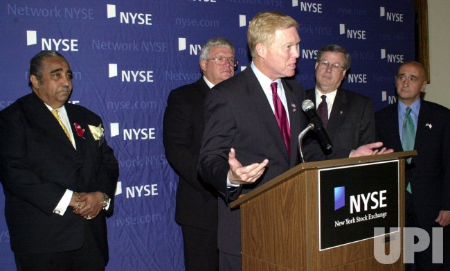 GEPHARDT, HASTERT, RANGEL, THOMAS MEET WITH NEW YORK STOCK EXCHANGE HEAD