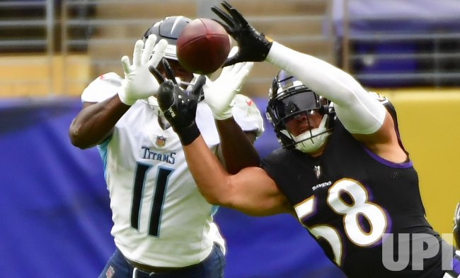 Tennessee Titans vs. Baltimore Ravens at M&T Bank Stadium