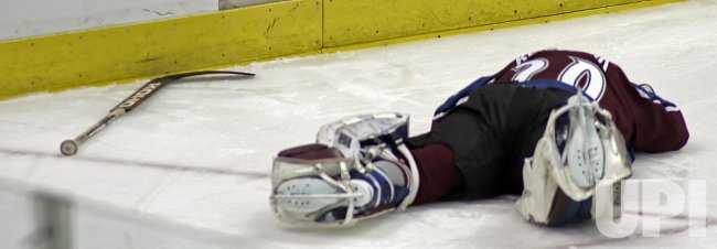 NHL OTTAWA SENATORS VS COLORADO AVALANCHE