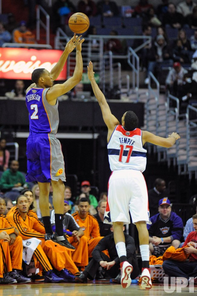Washington Wizards vs Phoenix Suns in Washington - UPI.com