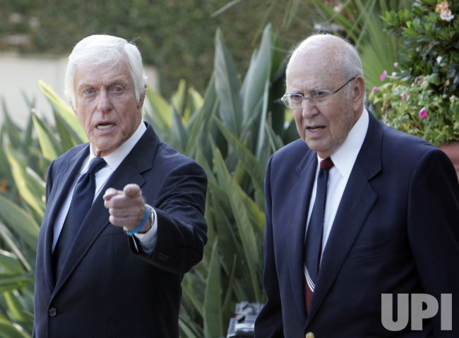 FUNERAL SERVICES HELD FOR MERV GRIFFIN IN BEVERLY HILLS, CALIFORNIA