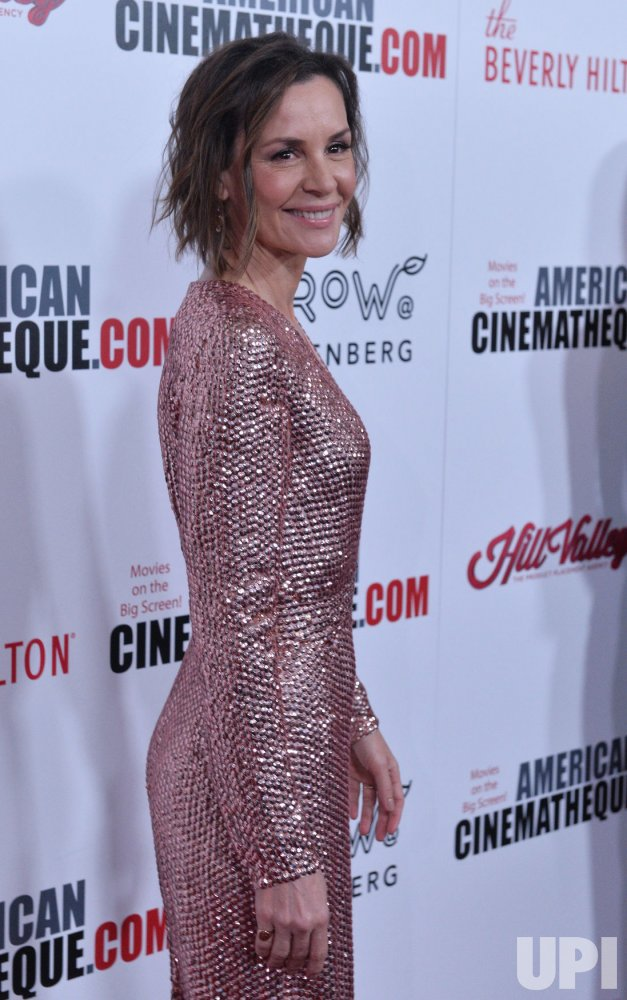 Embeth Davidtz attends the 31st annual American Cinematheque Awards gala in Beverly hills