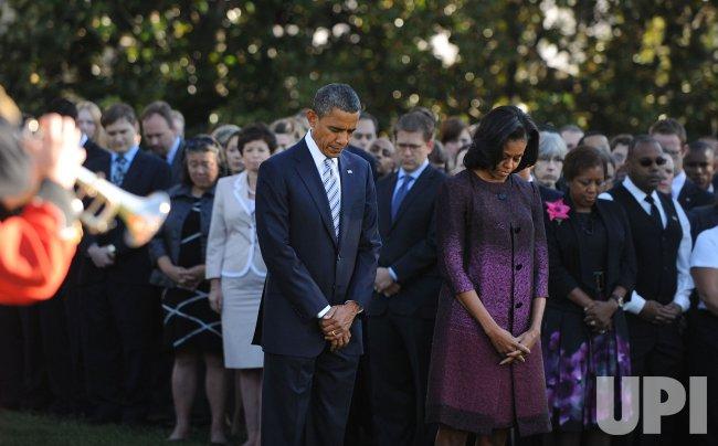 President Obama Observes 9/11 Commemoration in Washington