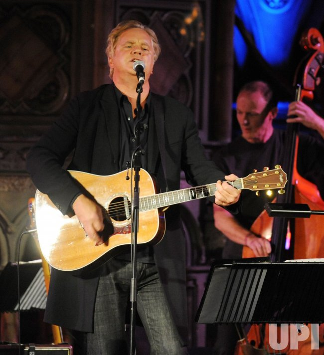 Tim Robbins And The Rogues Gallery Band perform in London