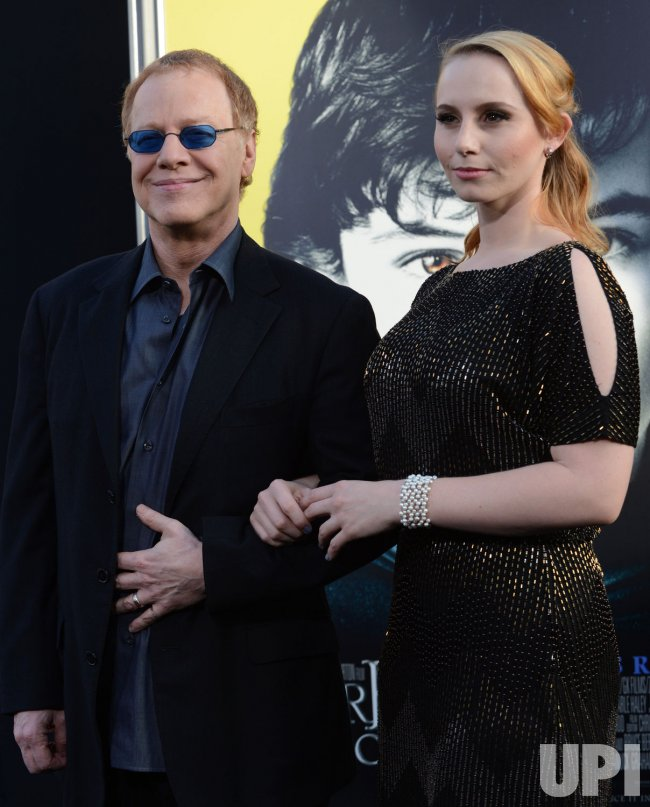 "Danny Elfman and Mali Elfman attend the ""Dark Shadows"" premiere in Los Angeles"