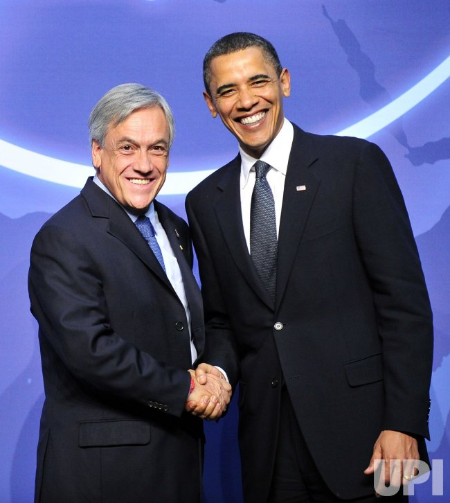 Obama Welcomes Piñera of Chile to the Nuclear Security Summit