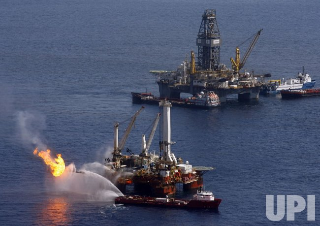 BP Deepwater Horizon oil accident site
