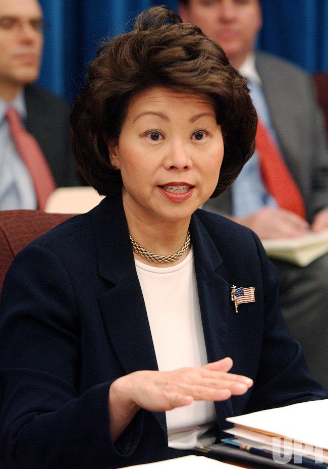 SECRETARY OF LABOR ELAINE CHAO