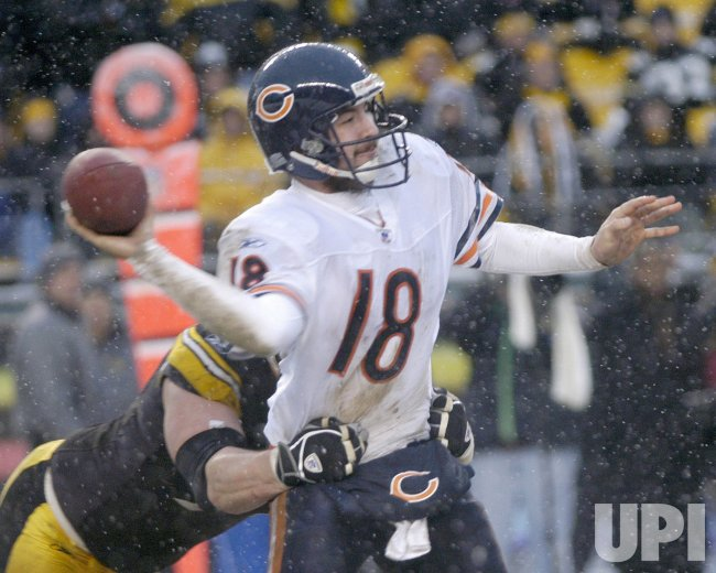 CHICAGO BEAR AT PITTSBURGH STEELER
