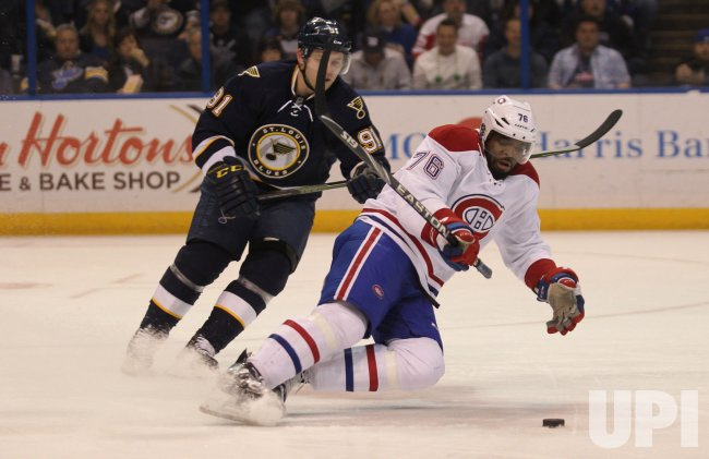 St. Louis Blues Vladimir Tarasenko and Montreal Canadiens P.K. Subban