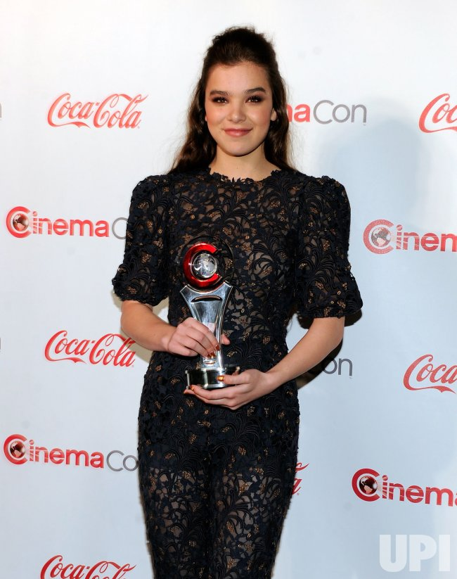 arrives at the 2013 CinemaCon Awards Ceremony in Las Vegas