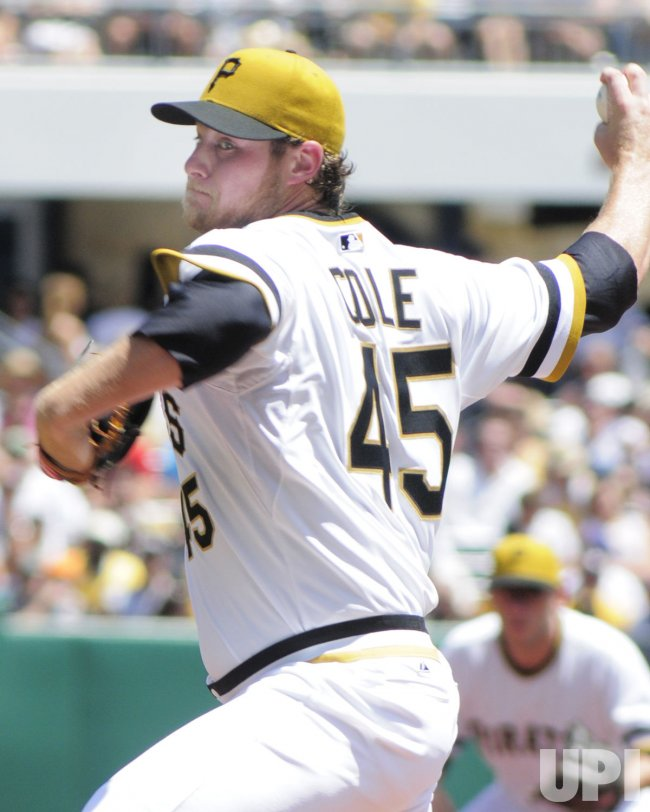 Pittsburgh Pirates Starter Gerrit Cole in Pittsburgh