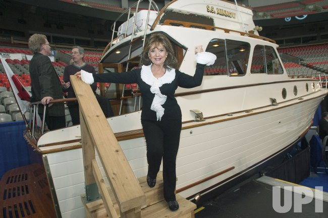 Actor Dawn Wells and the restored SS Minnow bring Gilligans