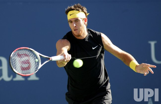 Del Potro takes on Federer in finals match at the US Open Tennis Championship in New York