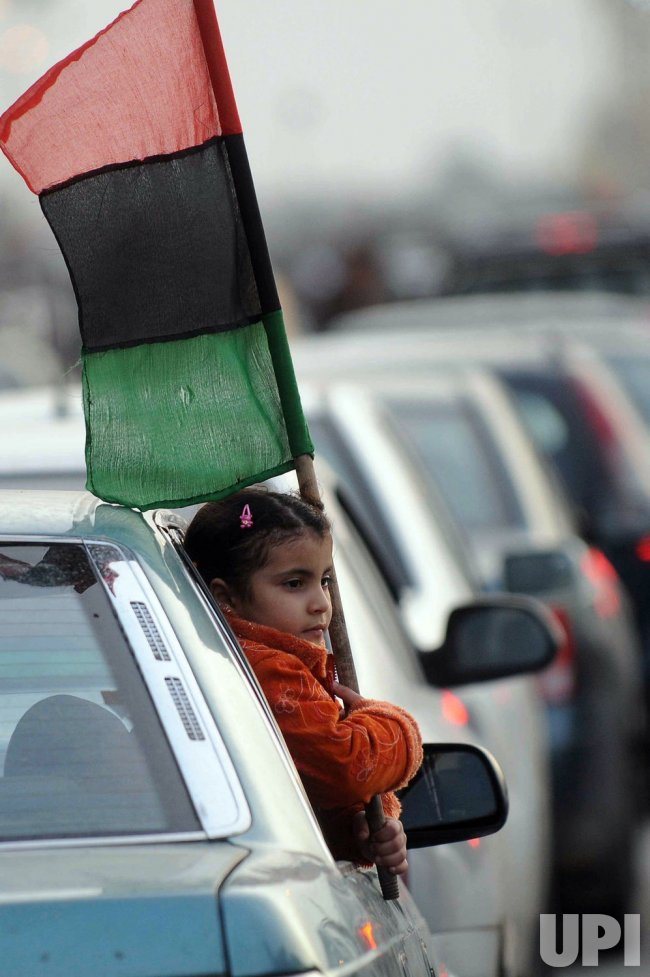 Libyans Continue Their Revolt Against Gadhafi in Libya