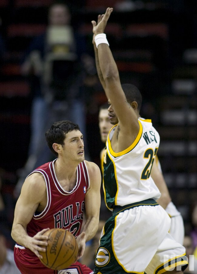 Chicago Bulls vs Seattle SuperSonics
