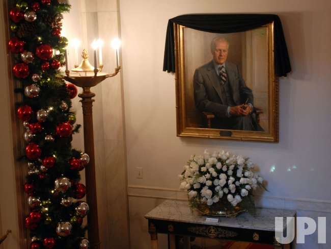 PRESIDENT FORD'S MEMORY HONORED AT WHITE HOUSE