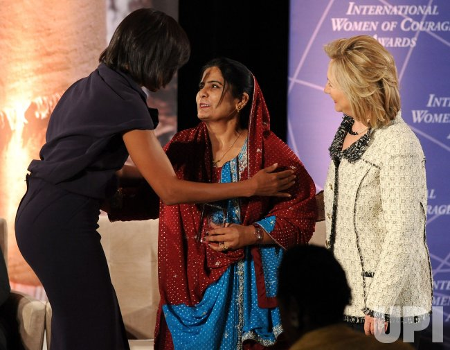 Women of Courage Awards held at State Department in Washington