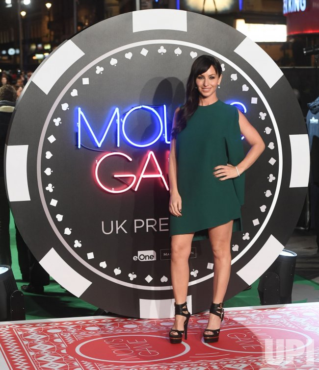 Molly Bloom attends the world premiere of Molly's Game at Vue West End.
