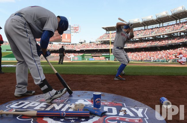 New York Mets at Washington Nationals on Opening Day
