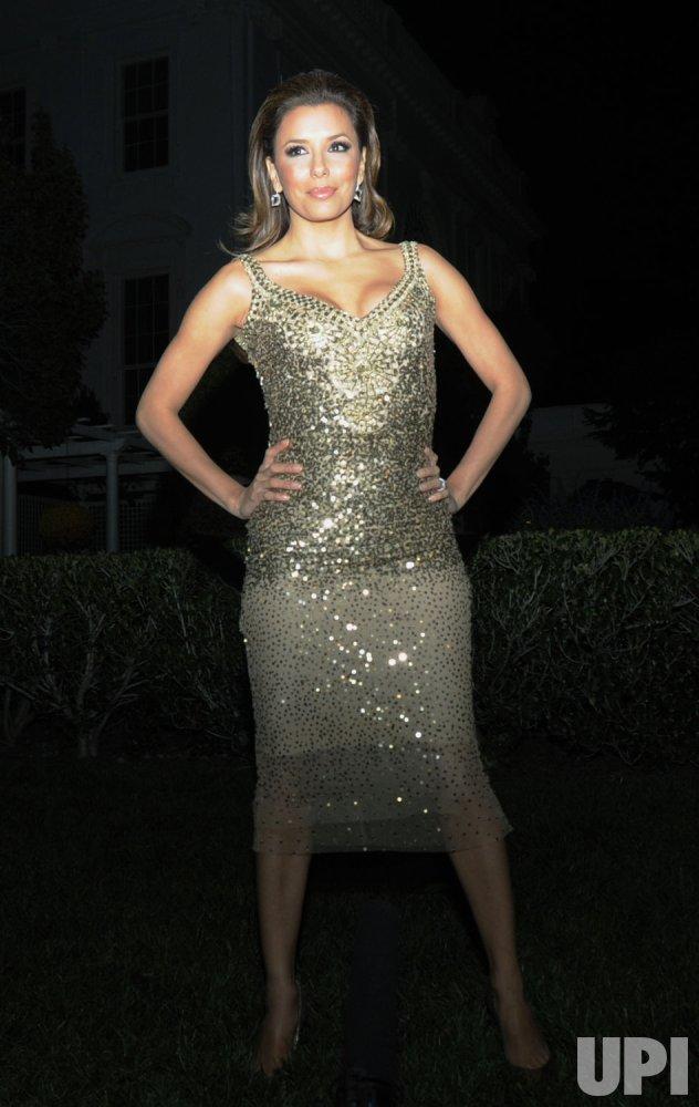 Eva Longoria Parker attends Fiesta Latina at the White House