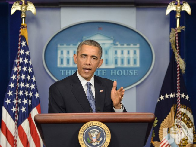 Obama Holds the End-of-the-Year Press Conference at the White House