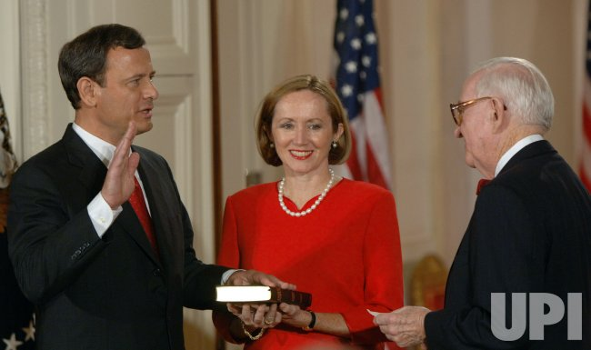 ROBERTS SWORN IN AS CHIEF JUSTICE
