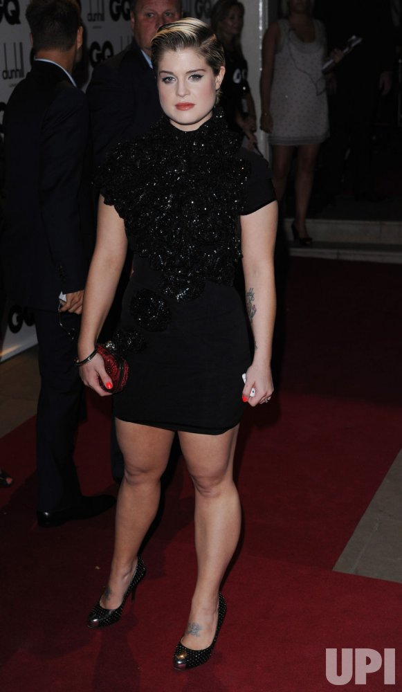 Kelly Osbourne attends the GQ Awards in London