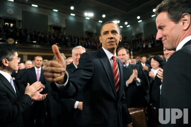 President Obama Delivers the State of the Union Address to Congress