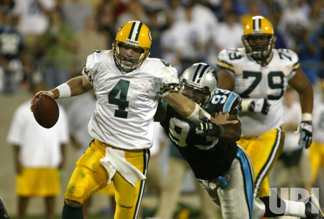 GREEN BAY PACKERS AT CAROLINA PANTHERS