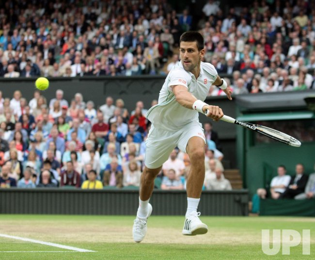 Day Ten at Wimbledon Tennis Championships in London