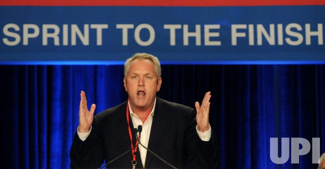 Andrew Breitbart speaks at get-out-the-vote rally in Anaheim, California