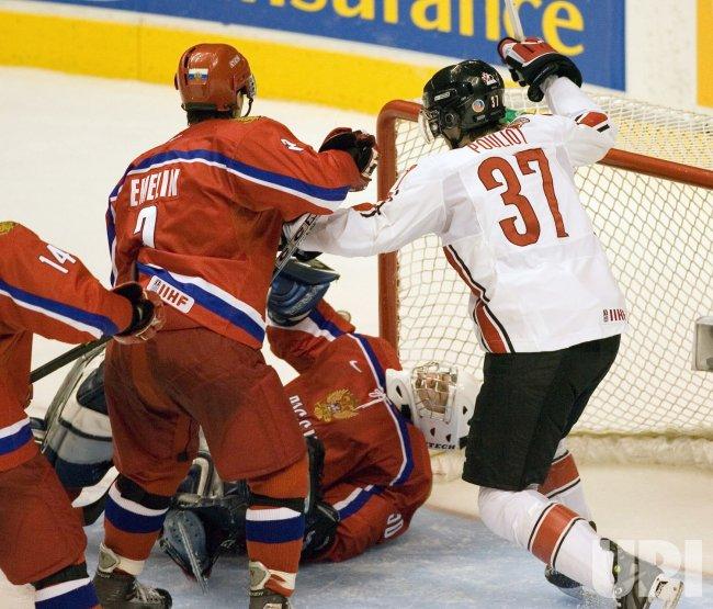 WORLD JUNIOR HOCKEY CHAMPIONSHIPS, CANADA VS RUSSIA