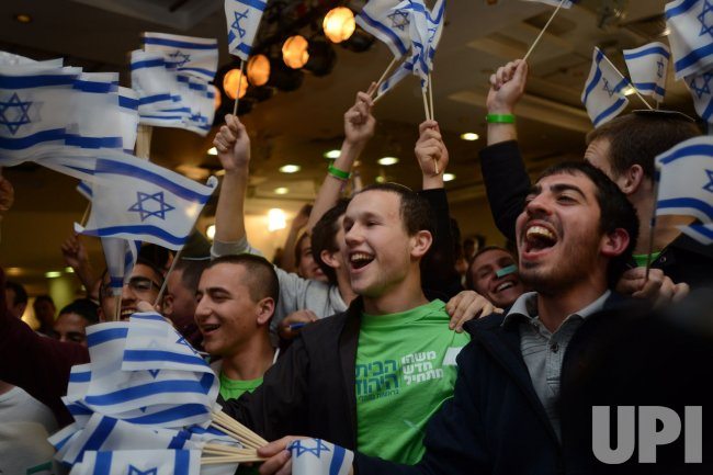 Naftali Bennett Celebrates Election Results