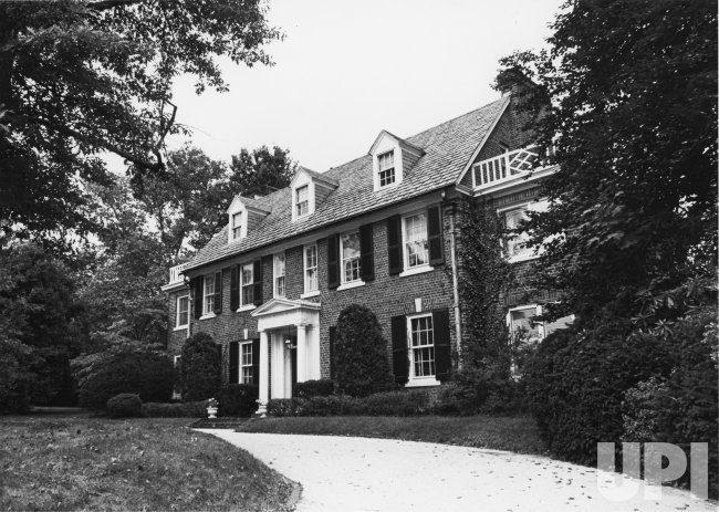 The home of Grace Kelly, Princess Grace of Monaco in Philadelphia
