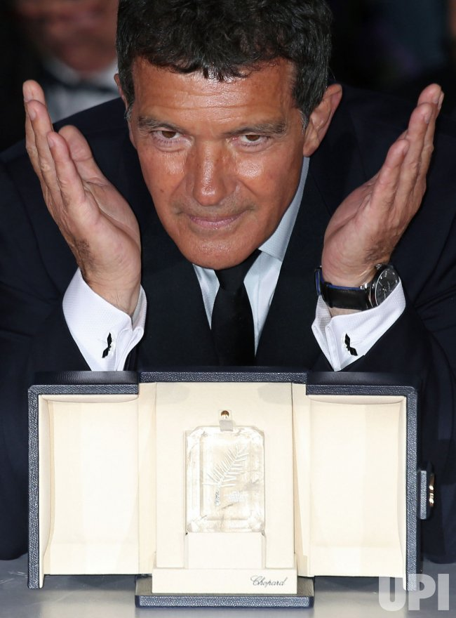 "Antonio Banderas wins ""Best Actor"" award at the Cannes International Film Festival"
