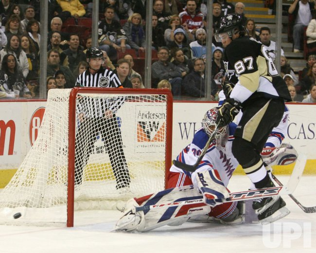 Pittsburgh Penguins vs New York Rangers