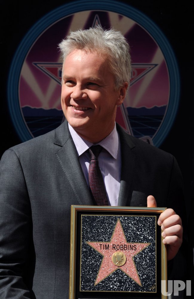 Tim Robbins receives star on Hollywood Walk of Fame in Los Angeles