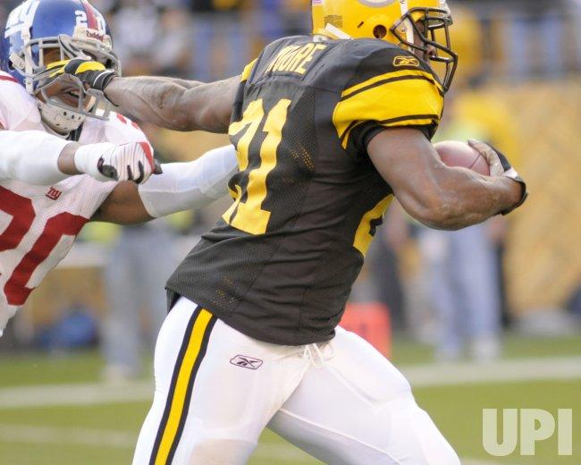 Pittsburgh Steelers vs New York Giants