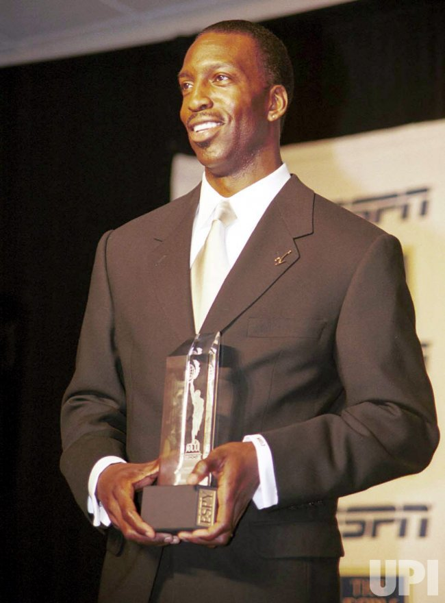 Michael Johnson received the ESPY Award